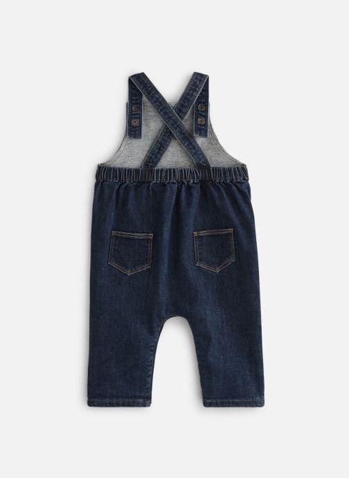 Vêtements Bout'Chou Combinaison denim Bleu vue bas / vue portée sac