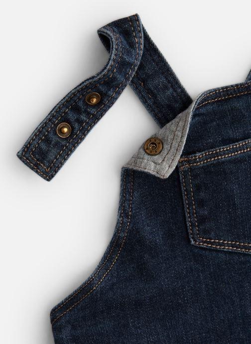 Vêtements Bout'Chou Combinaison denim Bleu vue portées chaussures