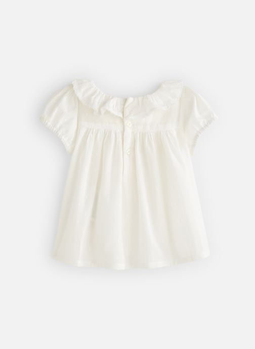 Tøj Bout'Chou Blouse manches courtes uni Hvid se forneden
