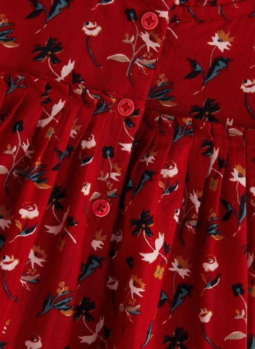 Vêtements Bout'Chou Blouse Vicky Rouge vue portées chaussures