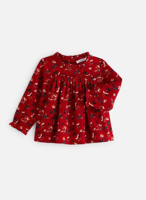 Vêtements Bout'Chou Blouse Vicky Rouge vue détail/paire