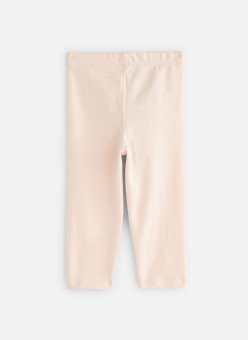 Vêtements Bout'Chou Legging uni bio Rose vue bas / vue portée sac