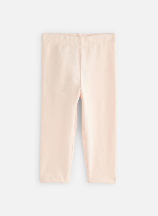 Vêtements Bout'Chou Legging uni bio Rose vue détail/paire