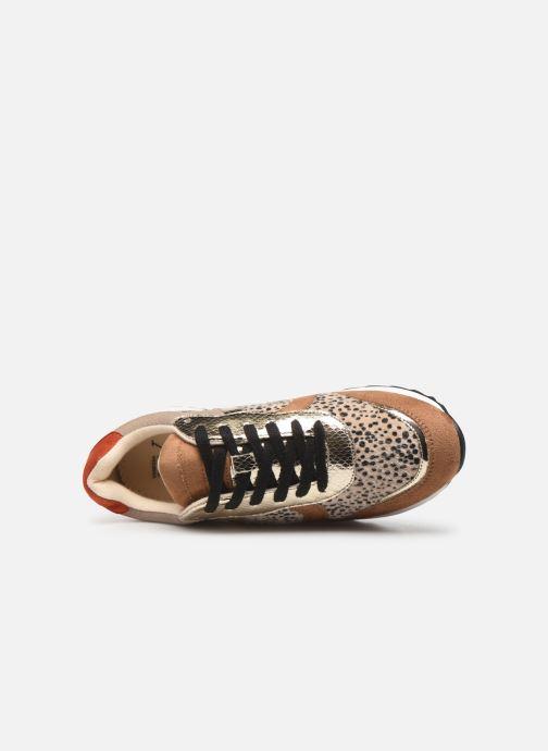 Sneakers Vanessa Wu BK1991 Oro e bronzo immagine sinistra