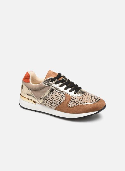 Sneakers Vanessa Wu BK1991 Guld og bronze detaljeret billede af skoene