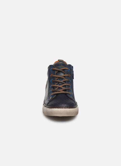 Baskets Stones and Bones Tiest Bleu vue portées chaussures