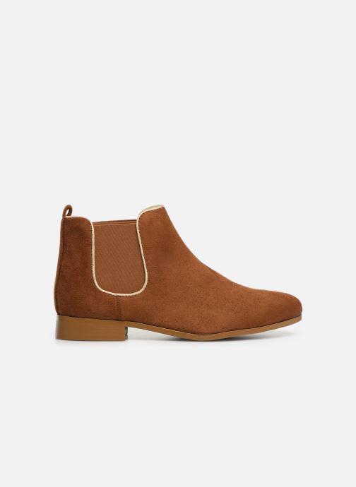 Ankle boots Monoprix Femme Boots Aris Brown back view