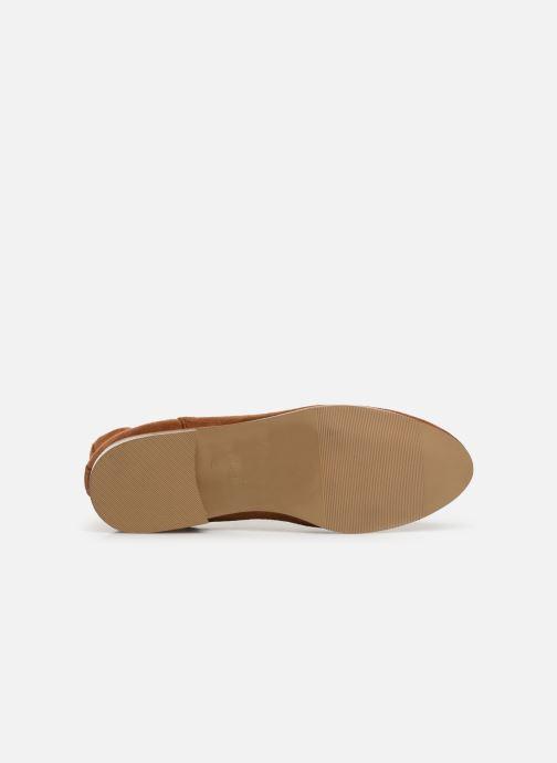 Bottines et boots Monoprix Femme Boots Aris Marron vue haut