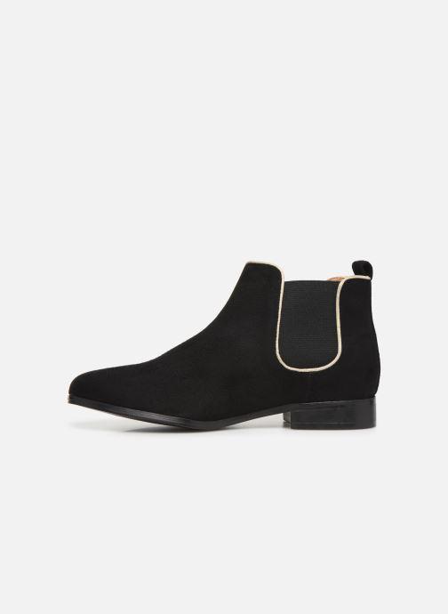 Bottines et boots Monoprix Femme Boots Aris Noir vue face