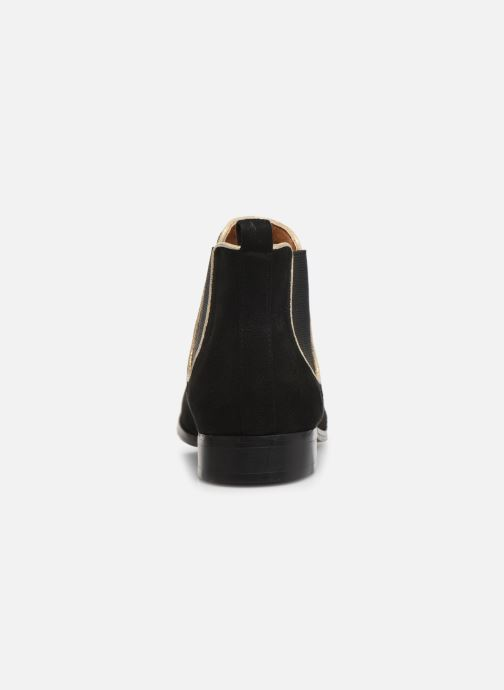 Botines  Monoprix Femme Boots Aris Negro vista lateral derecha