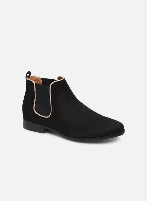 Ankle boots Monoprix Femme Boots Aris Black detailed view/ Pair view