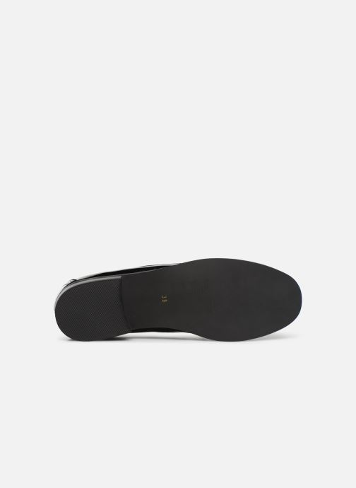 Loafers Monoprix Femme Mocassin verni Black view from above