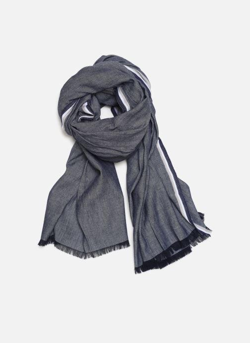 Echarpes et Foulards Monoprix Femme Chèche Chambray Bleu vue détail/paire
