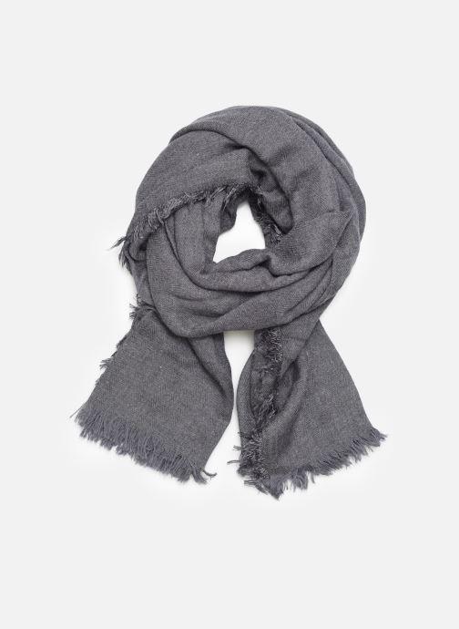 Echarpes et Foulards Monoprix Femme Chèche Chevron vis Bleu vue détail/paire