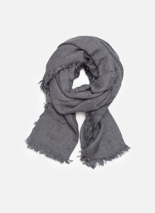 Sjaal Monoprix Femme Chèche Chevron vis Blauw detail
