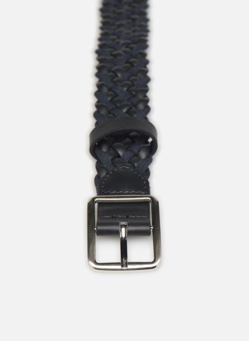 Cinturones Monoprix Femme Ceinture tréssée Azul vista del modelo