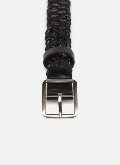 Belts Monoprix Femme Ceinture tréssée Black model view
