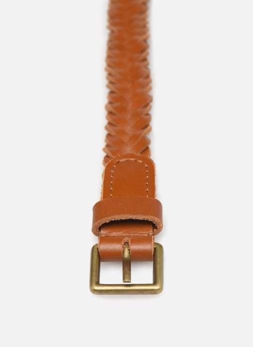 Cinturones Monoprix Femme Ceinture Tressée Marrón vista del modelo