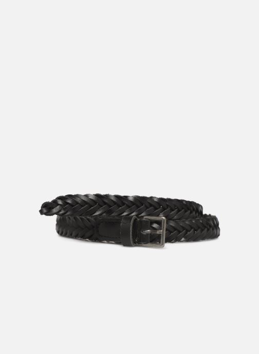 Belts Monoprix Femme Ceinture Tressée Black detailed view/ Pair view