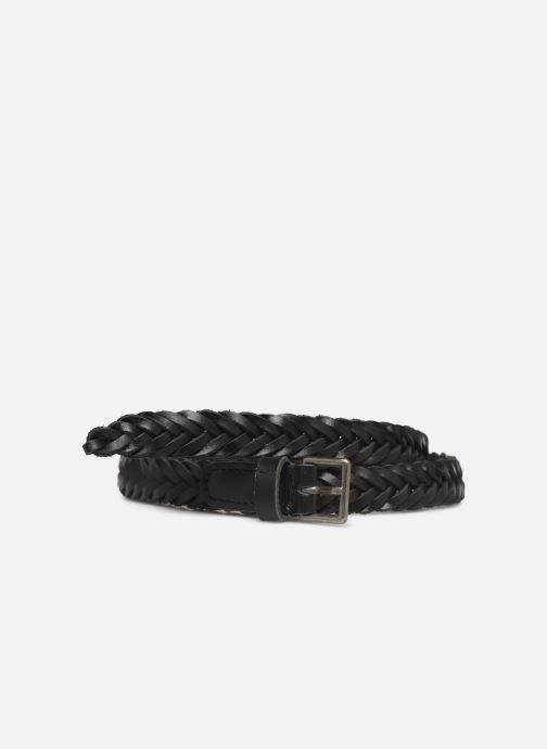 Cinturones Monoprix Femme Ceinture Tressée Negro vista de detalle / par