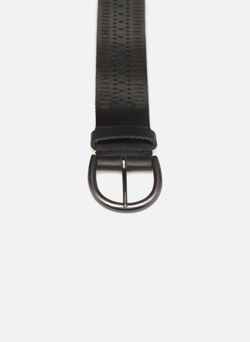 Cinturones Monoprix Femme Ceinture cuir perf Negro vista del modelo