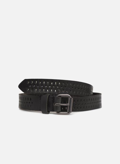 Cinturones Monoprix Femme Ceinture cuir perf 2cm Negro vista de detalle / par
