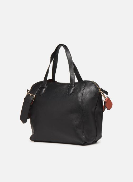 Handtaschen Monoprix Femme Sac ville 12H schwarz schuhe getragen