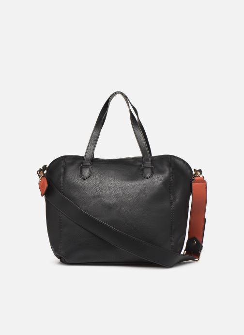 Handtaschen Monoprix Femme Sac ville 12H schwarz ansicht von vorne