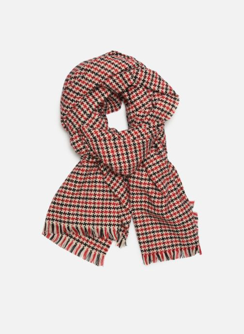 Scarf Monoprix Femme Foulard Red detailed view/ Pair view