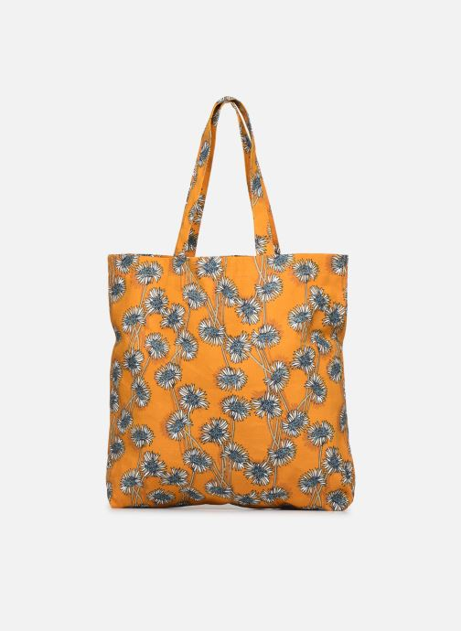 Handtaschen Monoprix Femme Tote bag coton fleurs gelb detaillierte ansicht/modell