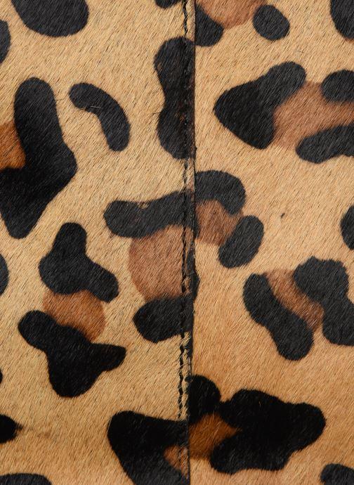Sacs à main Monoprix Femme Cabas Leopard Aris Marron vue gauche