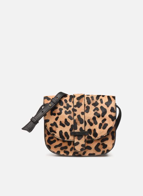 Sacs à main Monoprix Femme Sac ville Leopard Marron vue détail/paire