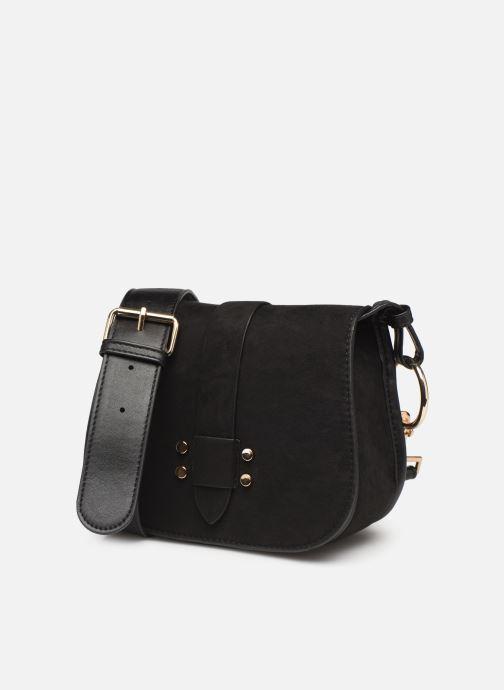 Handbags Monoprix Femme Sac ville mc Ari Black model view