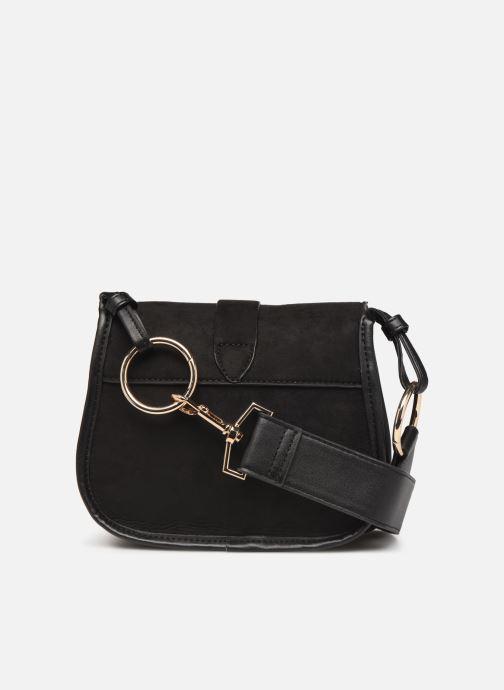 Handbags Monoprix Femme Sac ville mc Ari Black front view