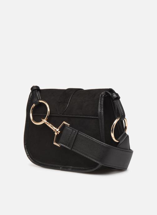 Handtaschen Monoprix Femme Sac ville mc Ari schwarz ansicht von rechts