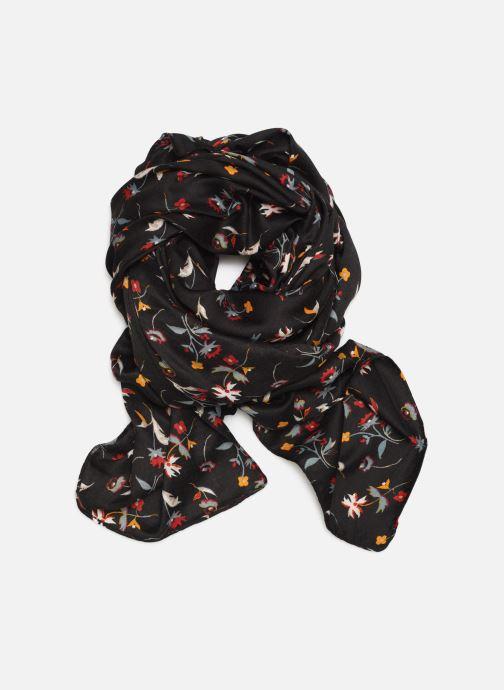 Echarpes et Foulards Monoprix Femme Foulard imprimé fleurs Noir vue détail/paire