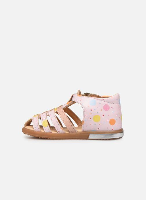 Sandales et nu-pieds Babybotte Tropikanasan x SARENZA Rose vue face