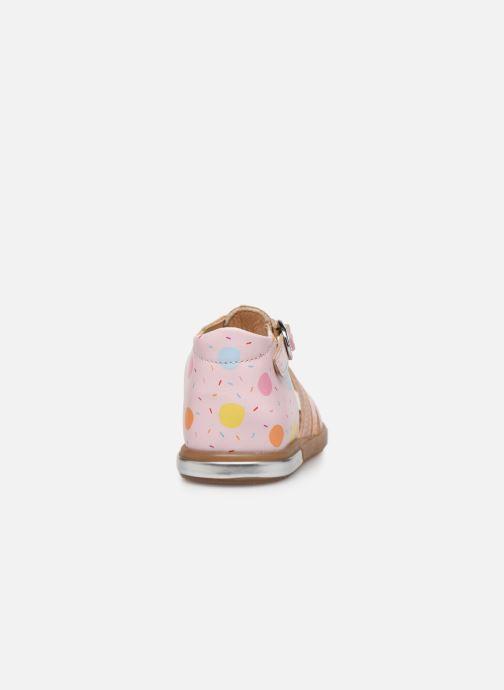 Sandales et nu-pieds Babybotte Tropikanasan x SARENZA Rose vue droite
