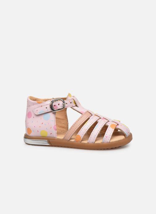 Sandales et nu-pieds Babybotte Tropikanasan x SARENZA Rose vue derrière