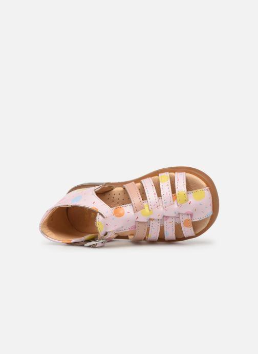 Sandales et nu-pieds Babybotte Tropikanasan x SARENZA Rose vue gauche