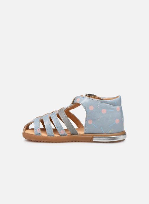 Sandales et nu-pieds Babybotte Tropikanasan x SARENZA Bleu vue face