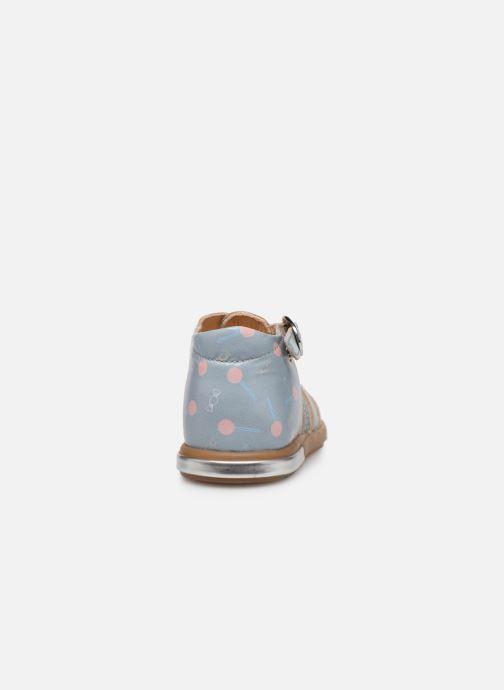 Sandales et nu-pieds Babybotte Tropikanasan x SARENZA Bleu vue droite