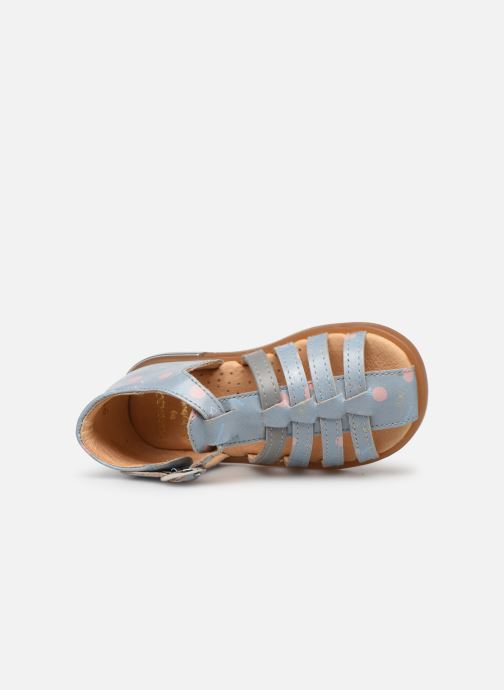 Sandales et nu-pieds Babybotte Tropikanasan x SARENZA Bleu vue gauche