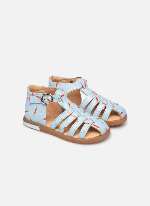 Sandalen Babybotte Tropikanasan x SARENZA Blauw detail