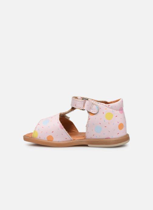 Sandals Babybotte Tenessan x SARENZA Pink front view