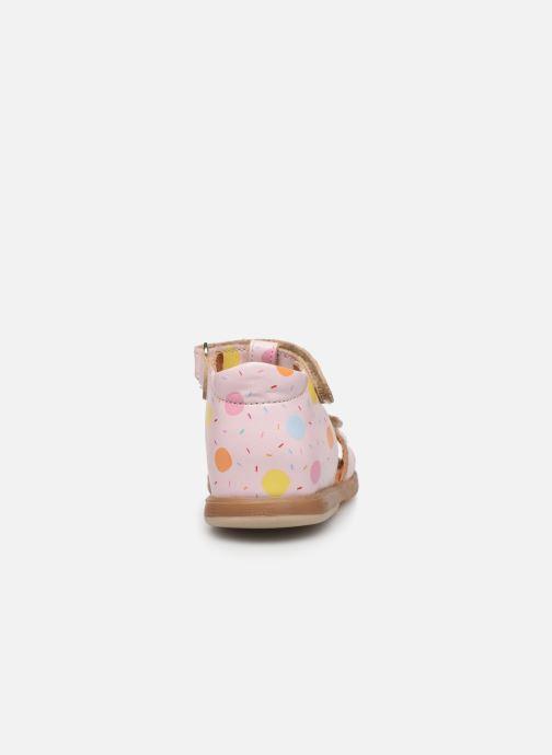 Sandales et nu-pieds Babybotte Tenessan x SARENZA Rose vue droite