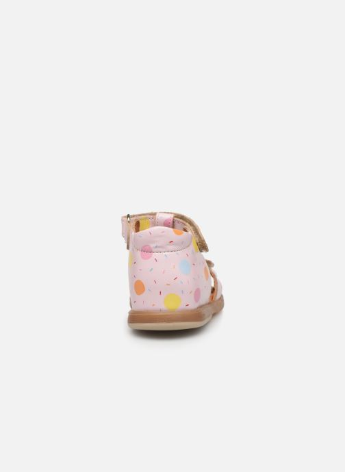 Sandals Babybotte Tenessan x SARENZA Pink view from the right
