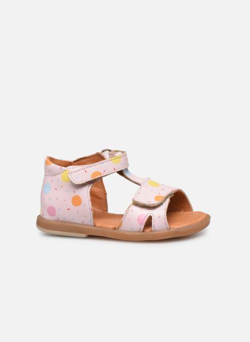 Sandals Babybotte Tenessan x SARENZA Pink back view