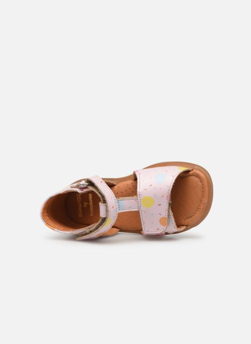 Sandals Babybotte Tenessan x SARENZA Pink view from the left