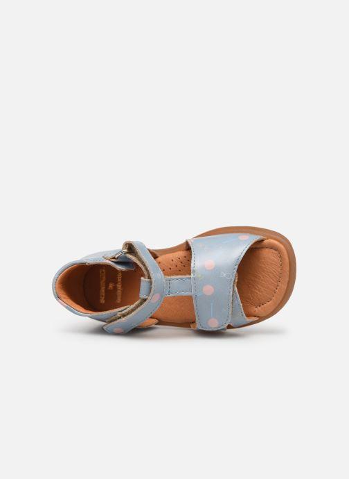 Sandalen Babybotte Tenessan x SARENZA Blauw links